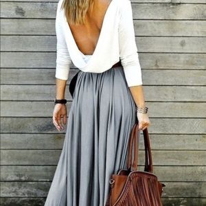 Boutique Great Pleated Waist Skirt